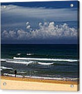 Manly Beach panorama Acrylic Print