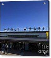Manly Wharf Acrylic Print