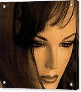 Mannequin Face Acrylic Print