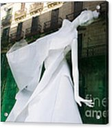 Mannequin In Barcelona Acrylic Print