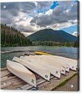Manning Parks Lightning Lake Acrylic Print