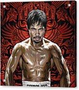 Manny Pacquiao Artwork 1 Acrylic Print