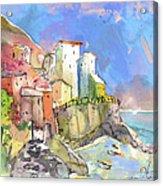 Manorola In Italy 05 Acrylic Print