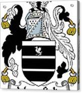 Mansfield Coat Of Arms Irish Acrylic Print
