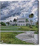 Mansion At Tuckahoe In Jensen Beach Florida Acrylic Print