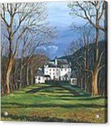 Mansion In The Woods Acrylic Print