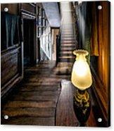 Mansion Lamp Acrylic Print