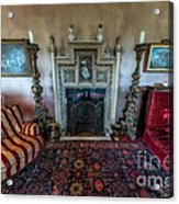 Mansion Sitting Room Acrylic Print by Adrian Evans