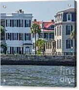 Mansions By The Water Acrylic Print