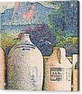 Mantelpiece Acrylic Print