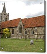 Manuden Church Acrylic Print