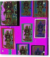 Many Geronimos Collage 1887-2012 Acrylic Print