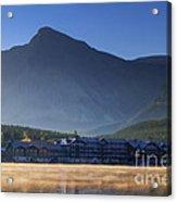 Many Glacier Hotel Acrylic Print