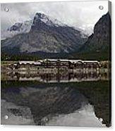 Many Glacier Reflection Acrylic Print