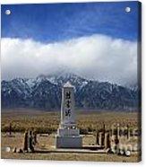 Manzanar National Historic Site Acrylic Print