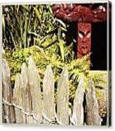 Maori Carving Acrylic Print