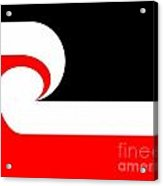 Maori Flag Acrylic Print