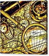 Map And Compass Acrylic Print