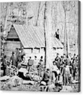 Maple Sugar Party, C1900 Acrylic Print