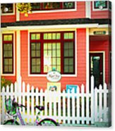 Maple View Manor Acrylic Print
