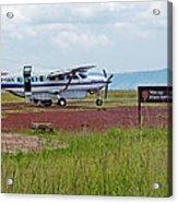 Mara Serena Air Strip Acrylic Print