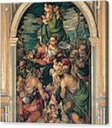 Marascalchi Pietro, Our Lady Of Mercy Acrylic Print