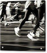 Marathon, Nyc, New York City, New York Acrylic Print
