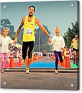 Marathon Of Happiness Acrylic Print