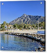 Marbella Holiday Resort In Spain Acrylic Print