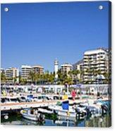 Marbella Marina In Spain Acrylic Print