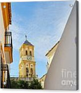 Marbella Old Town Acrylic Print