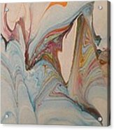 Marble 24 Acrylic Print by Mike Breau