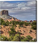 Marble Butte Acrylic Print