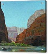 Marble Canyon Acrylic Print