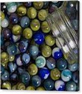 Marble Collection Jar 1 A Acrylic Print
