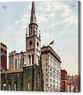 Marble Collegiate Church Holland House New York Acrylic Print