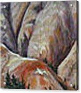 Marble Ridge Acrylic Print