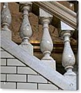 Marble Staircase Acrylic Print