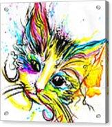 Marble The Cat Acrylic Print