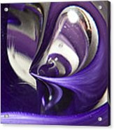 Marble Wilkerson Glass 4 Acrylic Print