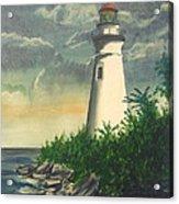 Marblehead Light On Lake Erie Acrylic Print
