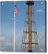 Marblehead Light Tower Acrylic Print