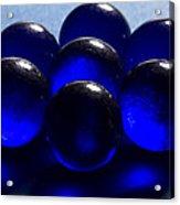 Marbles Blue 1 C Acrylic Print