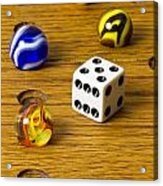 Marbles Board Game 1 C Acrylic Print