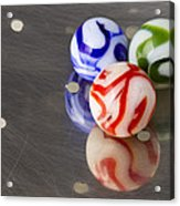 Marbles Strainer 2 Acrylic Print