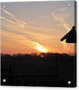 March 22  Countryside Sunrise Acrylic Print