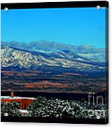 March In New Mexico Acrylic Print