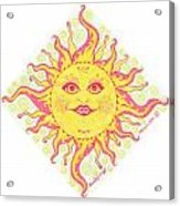 March Miss Patty Sun Acrylic Print