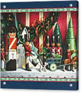 March Of The Wooden Soldiers Acrylic Print