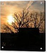 March Sunrise1 Acrylic Print by Jennifer  King
